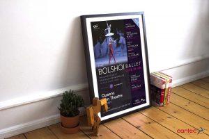 Bolshoi Ballet Poster