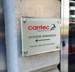 Cantec Dibond Signage