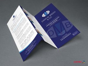 David Breen Trifold Brochure