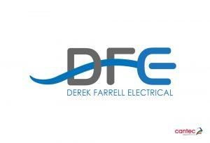 Derek Farrell Electrical Tramore Logo Design