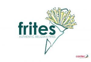 Frites Authentic Belgian Fries Logo Design