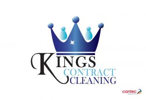 Kings Contract Cleaning Waterford Logo Design