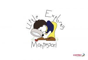 Little Explorers Montessori Waterford Logo Design