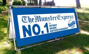 Munster Express PVC Banner