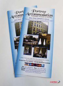 Portree House Hostel Flyer