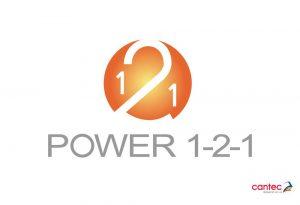 Power 1-2-1 Logo Design