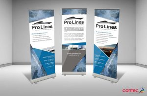 Pro Lines Pull-Up Banner