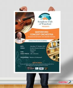 SCOW Waterford Concert Orchestra Poster