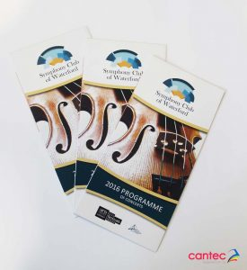 Symphony Club Waterford Leaflet