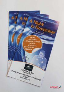 Theatre Royal Waterford Marie Jones Flyer