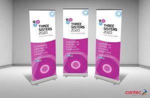 Three Sisters Pull-Up Banner