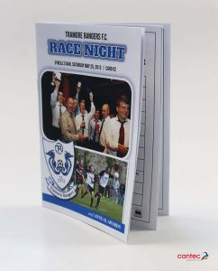 Tramore Rangers FC Booklets