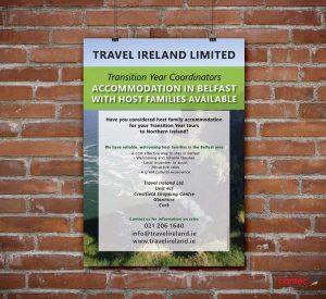 Travel Ireland Poster