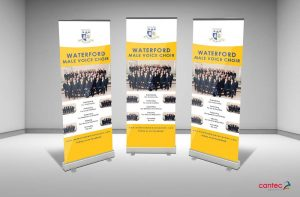 Waterford Male Voice Choir Pull-Up Banner