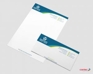 Dungarvan Credit Untion Letterhead and Comp Slip