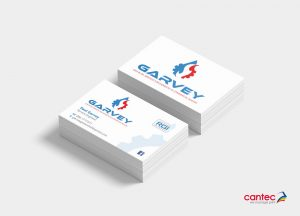 Garvey Gas and Oil Business Card